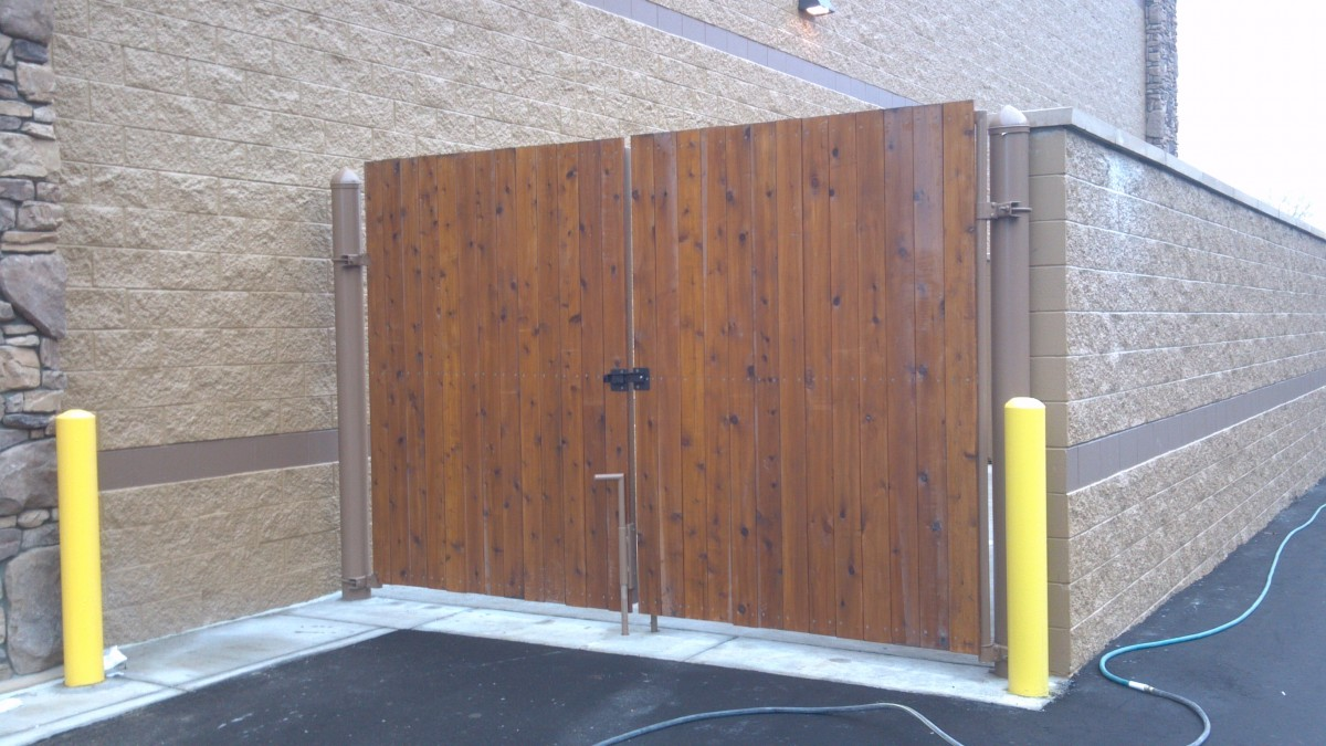 Dumpster Enclosure Options