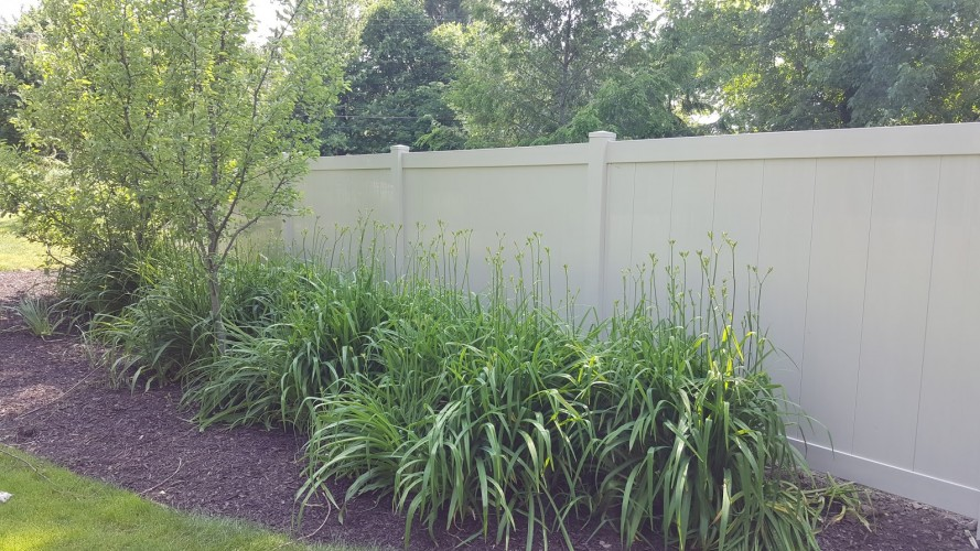 chain link fence gate fencing west Michigan