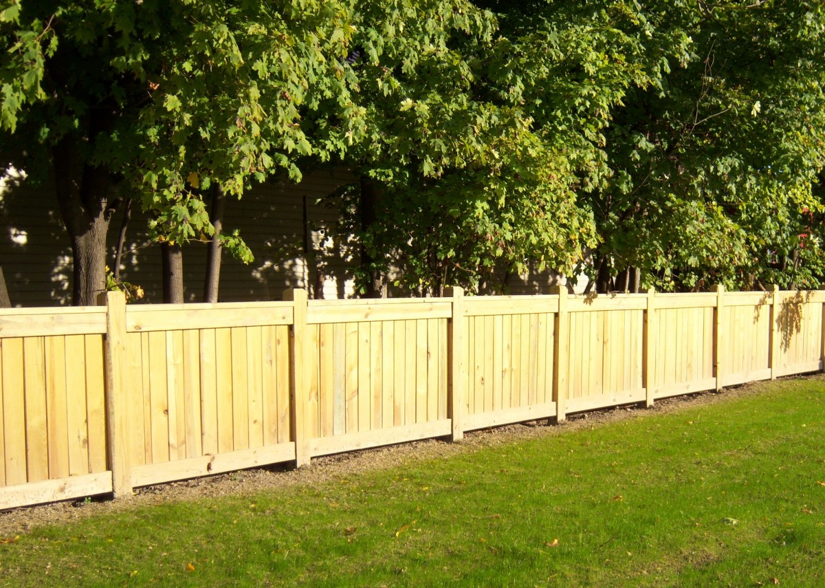 Wood Fence Fence Consultants Of West Michigan