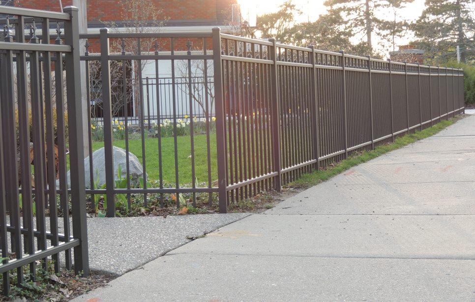 Aluminum fence consultants of west michigan