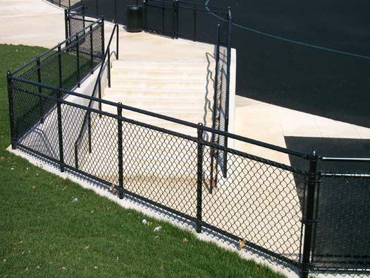 Chain link railing fence consultants of west michigan
