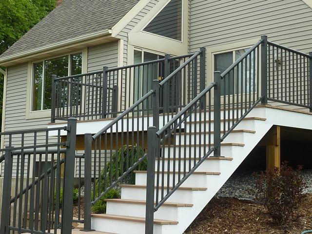 Aluminum Railing Fence Consultants Of West Michigan