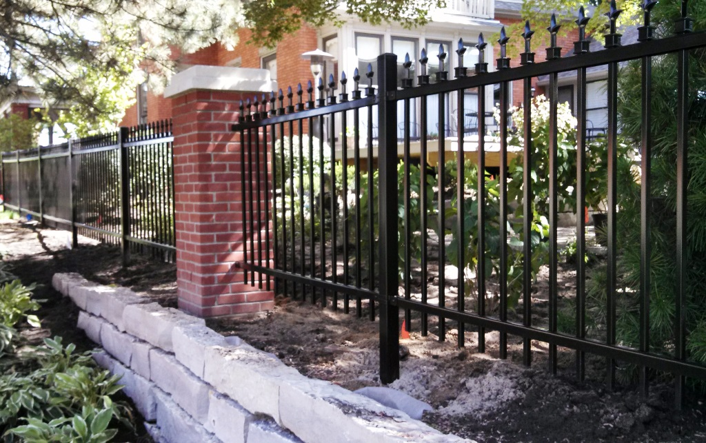 Aluminum Fence Fence Consultants Of West Michigan