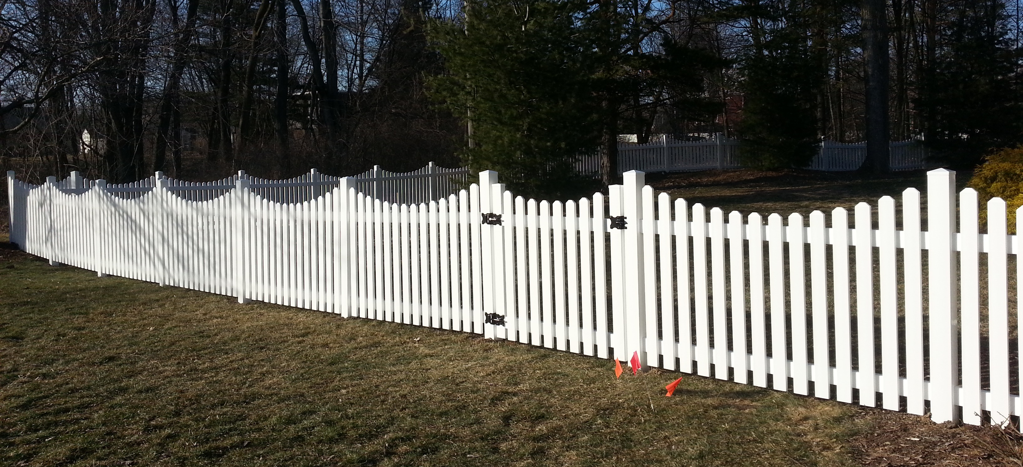 Vinyl Fence Fence Consultants Of West Michigan